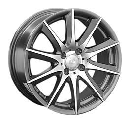 Автомобильный диск Литой LS 286 7x16 4/100 ET 40 DIA 73,1 GMF
