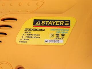 Дрель STAYER SID-550-E