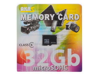 Карта памяти Trans Flash microSDHC 32 Гб