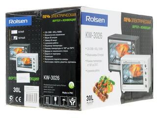Электропечь Rolsen KW-3026 черный