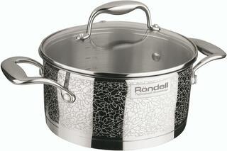 Кастрюля Rondell Vintage RDS-344 серебристый