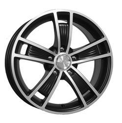 Автомобильный диск  K&K Диксон 7x16 5/114,3 ET 40 DIA 71,6 Алмаз блэк аурум