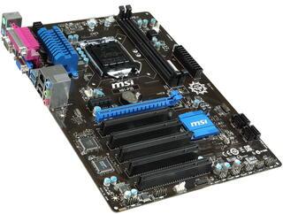 Плата MSI H81-P35 Socket-1150 Intel H81 DDR3 ATX AC`97 8ch(7.1) GbLAN SATA3 VGA+COM+LPT 5*PCI