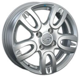 Автомобильный диск литой Replay HND100 6x15 4/100 ET 48 DIA 54,1 Sil