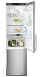 Холодильник с морозильником Electrolux EN3850DOX серебристый