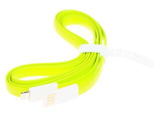 Кабель Solomon USB - Lightning 8-pin зеленый