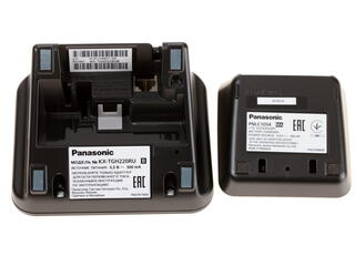 Телефон беспроводной (DECT) Panasonic KX-TGH222RUB