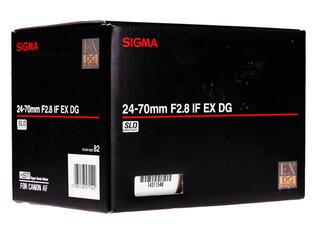 Объектив Sigma AF 24-70mm F2.8 IF EX DG HSM