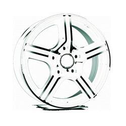 Автомобильный диск Литой Nitro Y738 6x14 4/98 ET 35 DIA 58,6 WFP