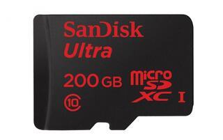 Карта памяти SanDisk SDSDQUAN-200G-G4A microSDXC 200 Гб