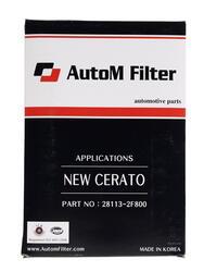 Фильтр воздушный AutoM AAK-208