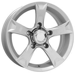 Автомобильный диск Литой K&K Триал 6,5x15 5/139,7 ET 30 DIA 98 Сильвер