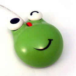 Мышь проводная Мышь детская оптическая (Лягушка)