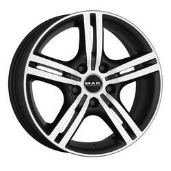 Автомобильный диск литой MAK Veloce Light 6,5x16 5/100 ET 48 DIA 56,1 Ice Black