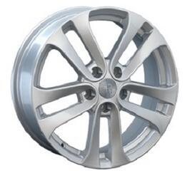 Автомобильный диск литой Replay NS63 7x17 5/114,3 ET 47 DIA 66,1 Sil