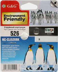 Картридж струйный G&G NC-CLI526BK
