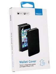 Чехол-книжка  Deppa для смартфона Apple iPhone 5/5S/SE