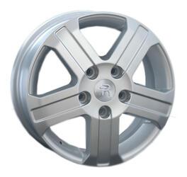 Автомобильный диск литой Replay PG22 6x15 5/118 ET 68 DIA 71,1 Sil