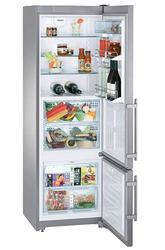 Холодильник с морозильником Liebherr CBNes 3656-20 серебристый