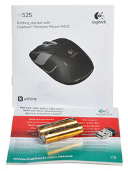 Мышь беспроводная Logitech Wireless Mouse M525