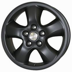 Автомобильный диск Литой Скад Santa-Fe 6,5x16 5/114,3 ET 46 DIA 67 Черный матовый