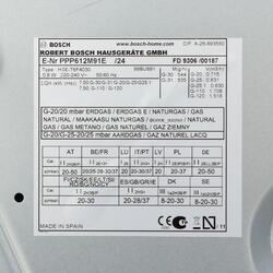 Газовая варочная поверхность Bosch PPP 612M91E
