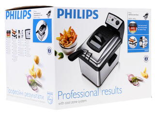 Фритюрница Philips HD 6163/00 серебристый