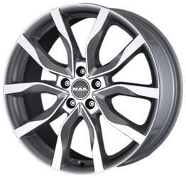 Автомобильный диск Литой MAK Highlands 9,5x20 5/120 ET 53 DIA 72,6 Silver
