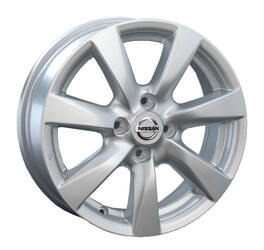 Автомобильный диск Литой Replay NS74 5,5x15 4/100 ET 45 DIA 60,1 Sil