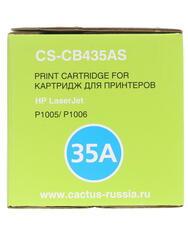 Картридж лазерный Cactus CS-CB435A