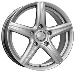 Автомобильный диск  K&K Барракуда 7,5x17 5/108 ET 49 DIA 63,35 Блэк платинум