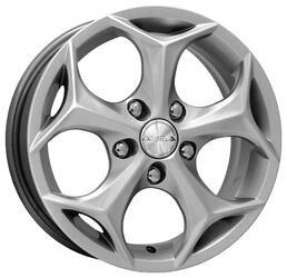 Автомобильный диск Литой K&K Кристалл 6,5x16 5/108 ET 52,5 DIA 63,35 Алмаз сильвер