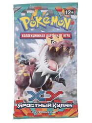 """Дополнение для игры Pokemon XY3: Бустер """"Яростный кулак"""""""