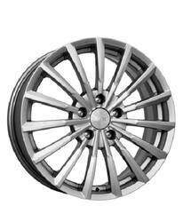 Автомобильный диск Литой K&K Акцент 7x17 5/114,3 ET 55 DIA 64,1 Алмаз платина