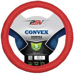 Оплетка на руль PSV CONVEX красный