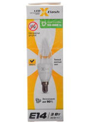 Лампа светодиодная X-Flash XF-BCC-E14-3W-3K-220V