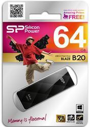 Память USB Flash Silicon Power Blaze B20 64 Гб