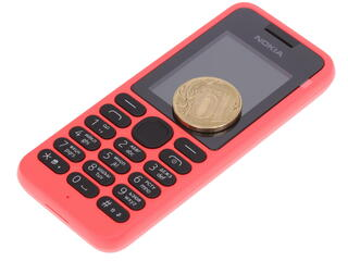 Сотовый телефон Nokia 130 DS красный