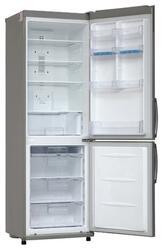 Холодильник с морозильником LG GA-E409ULQA серебристый