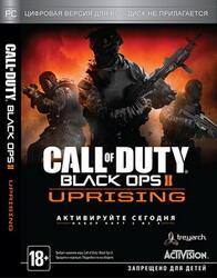 """[167639] Игра """"Call of Duty: Black Ops II Uprising """"(русская версия)"""" DVD-box"""