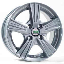 Автомобильный диск Литой Nitro Y343 5,5x13 4/98 ET 35 DIA 58,6 Sil