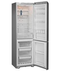 Холодильник с морозильником INDESIT PBAA 347 F X D(RU) серебристый