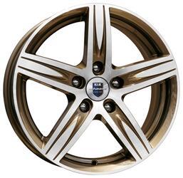 Автомобильный диск  K&K Андорра 7x17 5/105 ET 42 DIA 56,6 Алмаз брасс