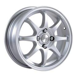 Автомобильный диск литой Скад Форвард 6x15 4/100 ET 34 DIA 72,6 белый