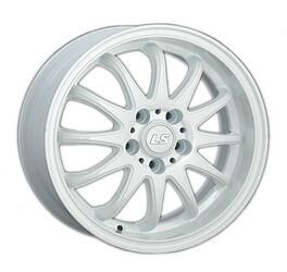 Автомобильный диск Литой LS 299 6x15 5/100 ET 40 DIA 57,1 White