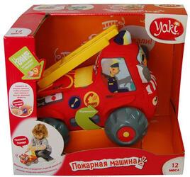 Интерактивная игрушка Yaki Машина пожарная