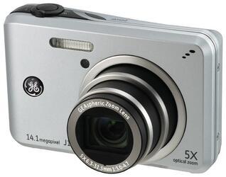 Компактная камера General Electric J1455 серебристый