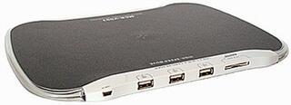 Коврик Highpaq MCR-V001D + SD/MMC Card Reader + 3-port USB2.0 Hub