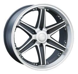Автомобильный диск Литой LS 184 9x20 6/139,7 ET 25 DIA 106,1 GMF