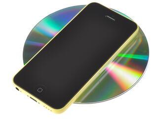"""4"""" Смартфон Apple iPhone 5c 16 ГБ желтый"""